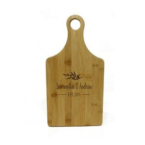 Bamboo Paddle-Shaped Cutting Board