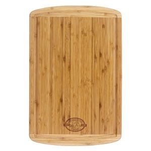 Totally Bamboo Malibu Groove Vertical Grain Bamboo Cutting Board